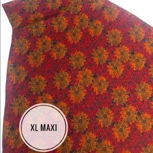 XL LuLaRoe Maxi Skirt NWT